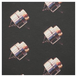 Les années 1970 vintages satellites tissu