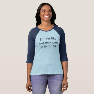 Les années 50 frais - T-shirt de coton