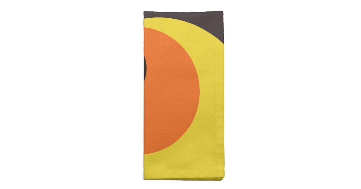 Les ann es 70 papier peint serviettes en tissus zazzle - Papier peint annee 50 60 ...
