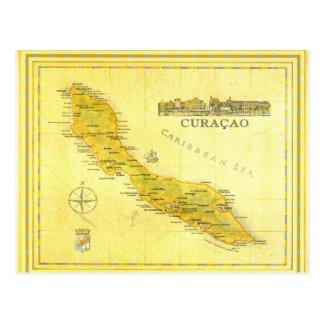 Les Antilles néerlandaises, Curaçao tracent (le Carte Postale