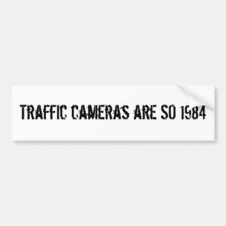 Les appareils-photo du trafic sont TELLEMENT 1984 Autocollant Pour Voiture