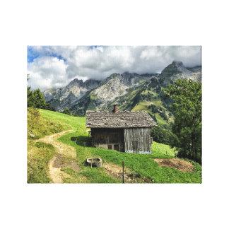 Les Aravis, la Haute-Savoie Toile