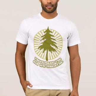 Les arbres font le T-shirt d'air