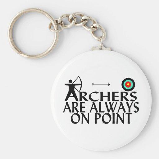 Les archers sont toujours sur le point porte-clef