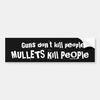 Les armes à feu ne tuent pas des personnes, person autocollant de voiture