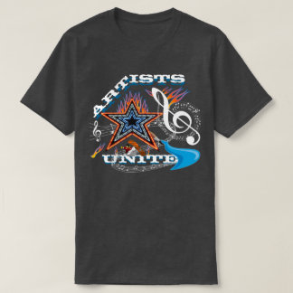Les artistes ont uni la musique t-shirts