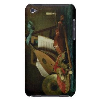 Les attributs de la musique, 1770 (huile sur la coques iPod touch