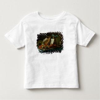 Les attributs de la musique, 1770 (huile sur la t-shirt