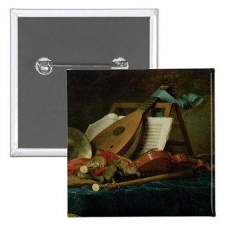 Les attributs de la musique, 1770 (huile sur la to badge