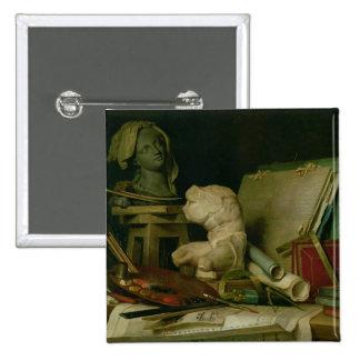 Les attributs des arts, 1769 (huile sur la toile) badge