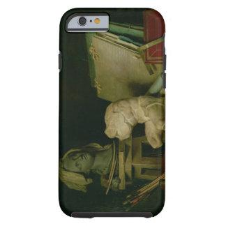 Les attributs des arts, 1769 (huile sur la toile) coque iPhone 6 tough