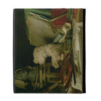 Les attributs des arts, 1769 (huile sur la toile) coque folio iPad
