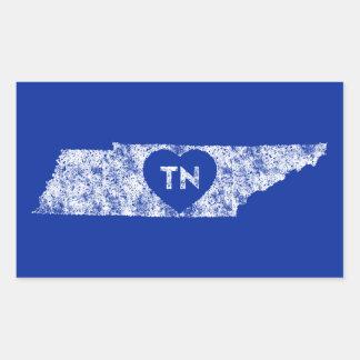 Les autocollants ont employé l'état du Tennessee