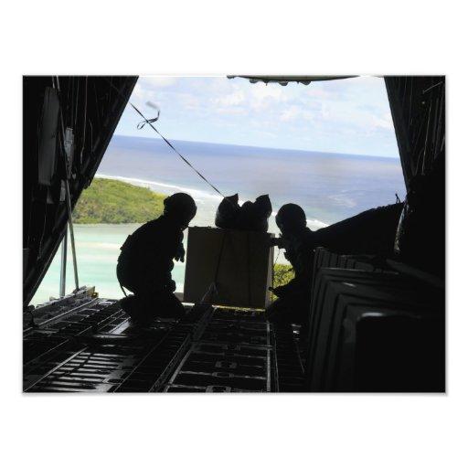 Les aviateurs éliminent une palette des marchandis photographies d'art