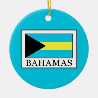 Les Bahamas Ornement Rond En Céramique