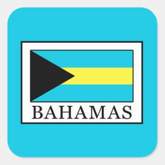 Les Bahamas Sticker Carré