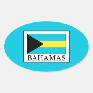 Les Bahamas Sticker Ovale