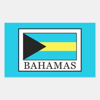 Les Bahamas Sticker Rectangulaire