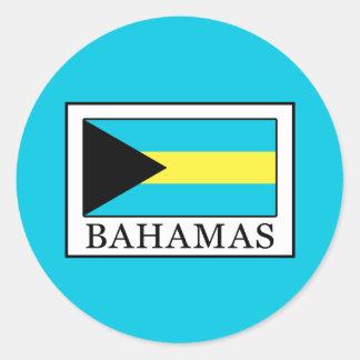 Les Bahamas Sticker Rond