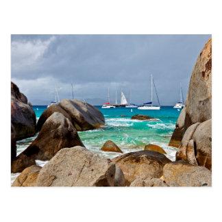 Les bains, Vierge Gorda, Îles Vierges britanniques Carte Postale