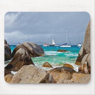 Les bains Vierge Gorda Îles Vierges britanniques Tapis De Souris
