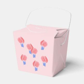 Les ballons à air sortent le ballotin ballotins