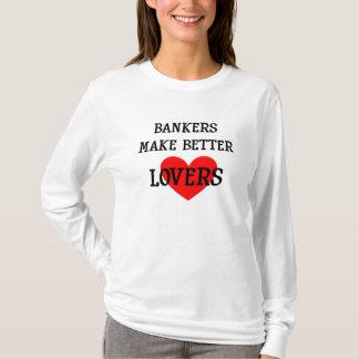 Les banquiers font à de meilleurs amants le sweat