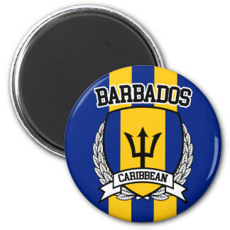 Les Barbade Magnet Rond 8 Cm