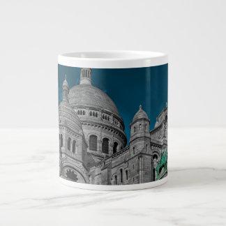 Les basiliques célèbres Sacré Cœur à Paris Mugs Jumbo