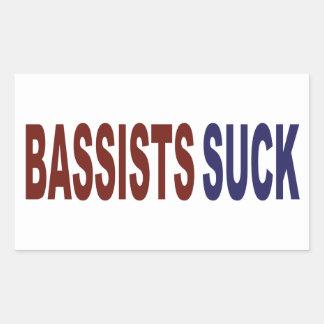Les bassistes sucent adhésifs
