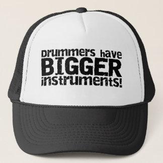 Les batteurs ont un plus grand casquette