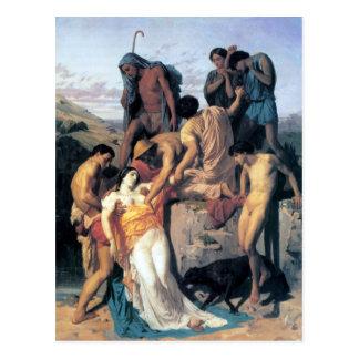 Les Bergers de pair de Bouguereau - de Zénobia Ret Carte Postale