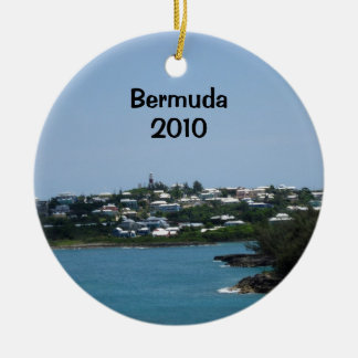 Les Bermudes, 2010 Ornement Rond En Céramique