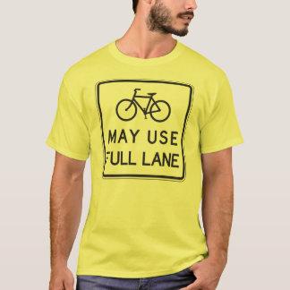 Les bicyclettes peuvent employer la pleine ruelle t-shirt