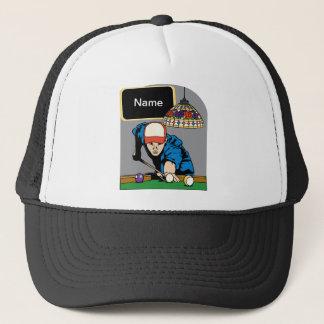 Les billards des hommes personnalisés casquette