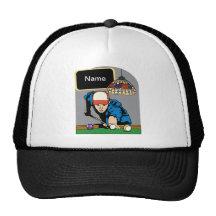 Les billards des hommes personnalisés casquettes de camionneur