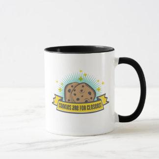 Les biscuits du bébé   de patron sont pour Closers Mugs