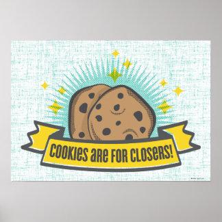 Les biscuits du bébé | de patron sont pour Closers Posters