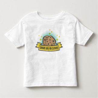 Les biscuits du bébé   de patron sont pour Closers T-shirt Pour Les Tous Petits