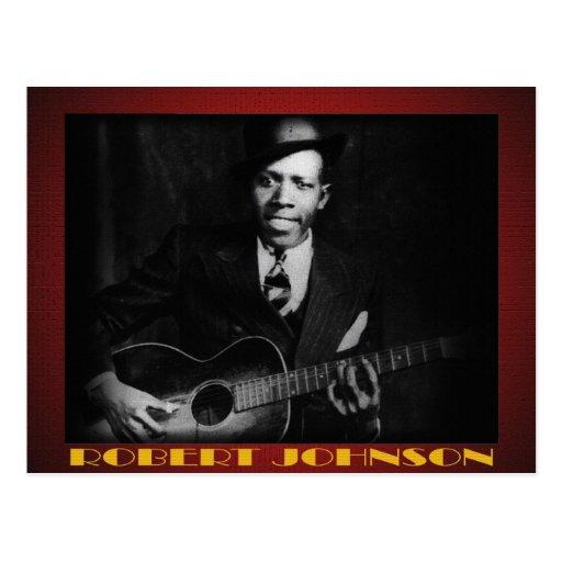 Les bleus de la carte postale de Robert Johnson