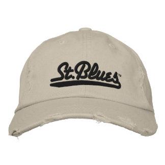Les bleus de St ont brodé le casquette affligé Casquette Brodée