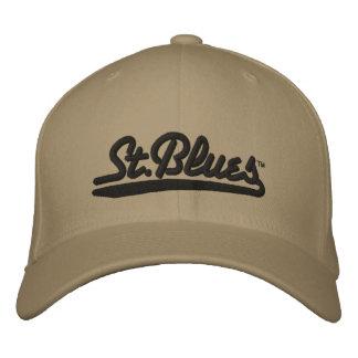 Les bleus de St ont brodé le casquette de laine Casquette Brodée