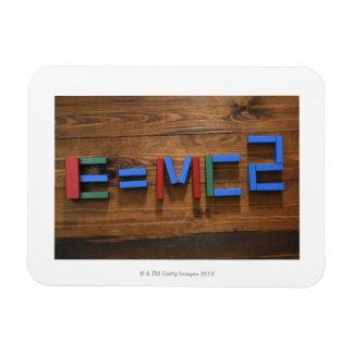 Les blocs constitutifs de l'enfant se sont chargés magnet rectangulaire avec photo
