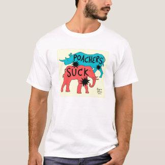 Les braconniers sucent t-shirt