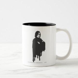 Les bras de Severus Snape ont croisé la guerre Tasse 2 Couleurs