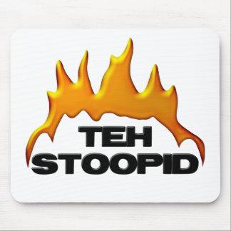 Les brûlures de Stoopid Tapis De Souris