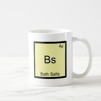 Les BS - Pièce en t drôle de chimie de Meme d'élém Mug Blanc