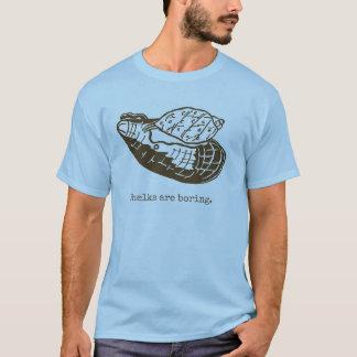 Les buccins sont les hommes ennuyeux bleus t-shirt