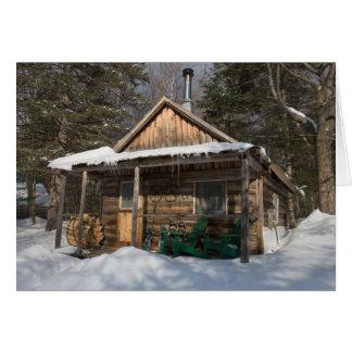 Les cabines chez le peu de Lyford d'AMC Carte De Vœux