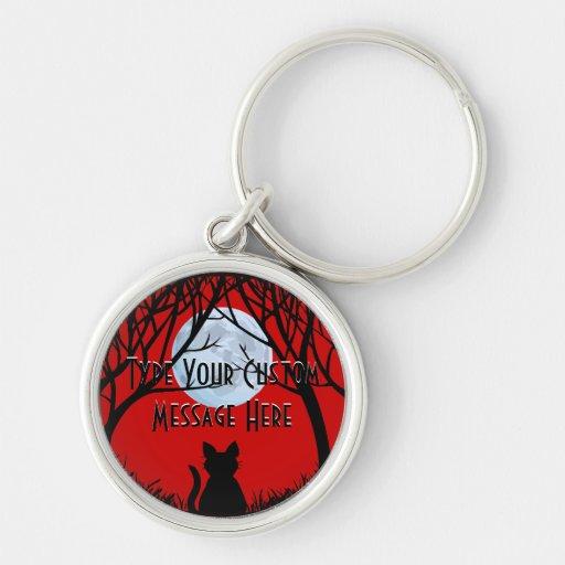 Les cadeaux de chat de Keychain de chat ont person Porte-clé
